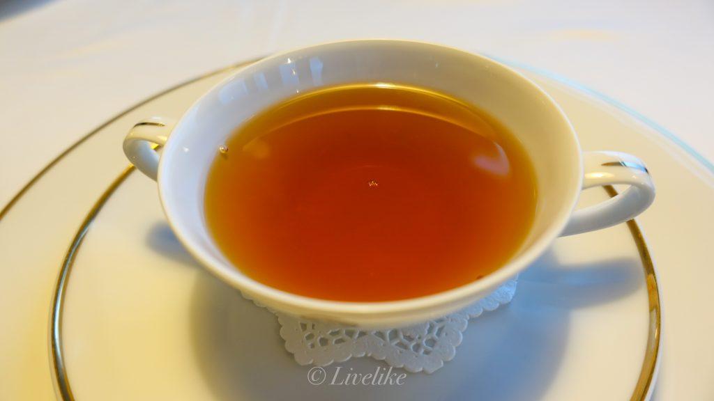 資生堂パーラー ザ・ハラジュク コンソメスープ